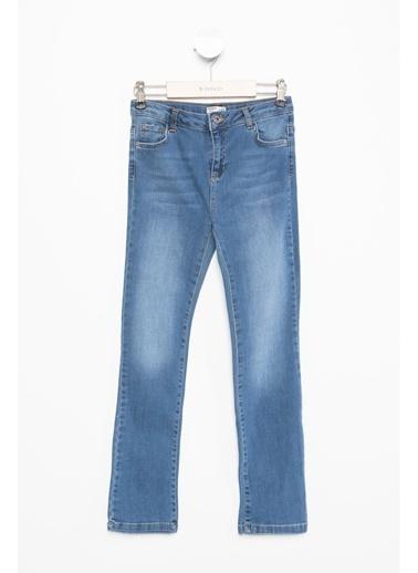 DeFacto Genç Kız Denim Pantolon Mavi
